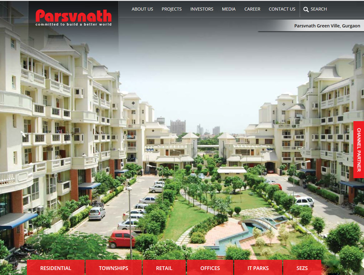 Development of WordPress Based Real Estate Website: Parsvnath