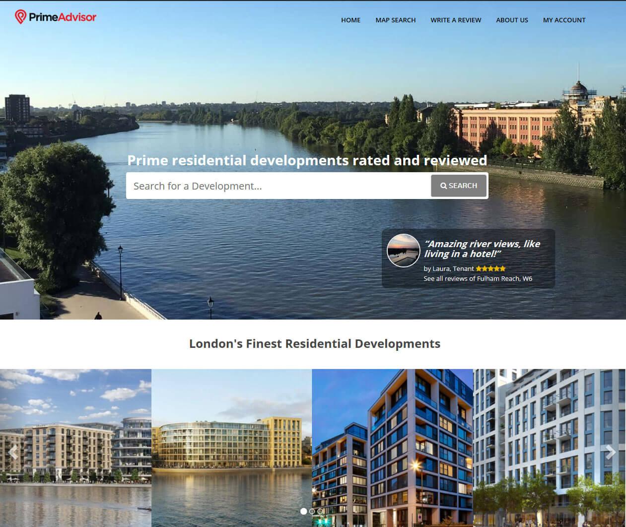 Website Maintenance of A PHP Powered Website - PrimeAdvisor