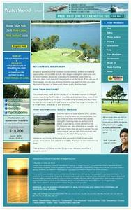 Real Estate Website in PHP for 'Water Wood' – Homes for Sale & Buy