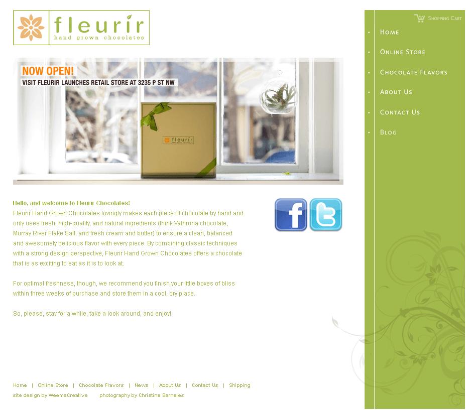 Development of A Zend Powered Online Store - Fleurir