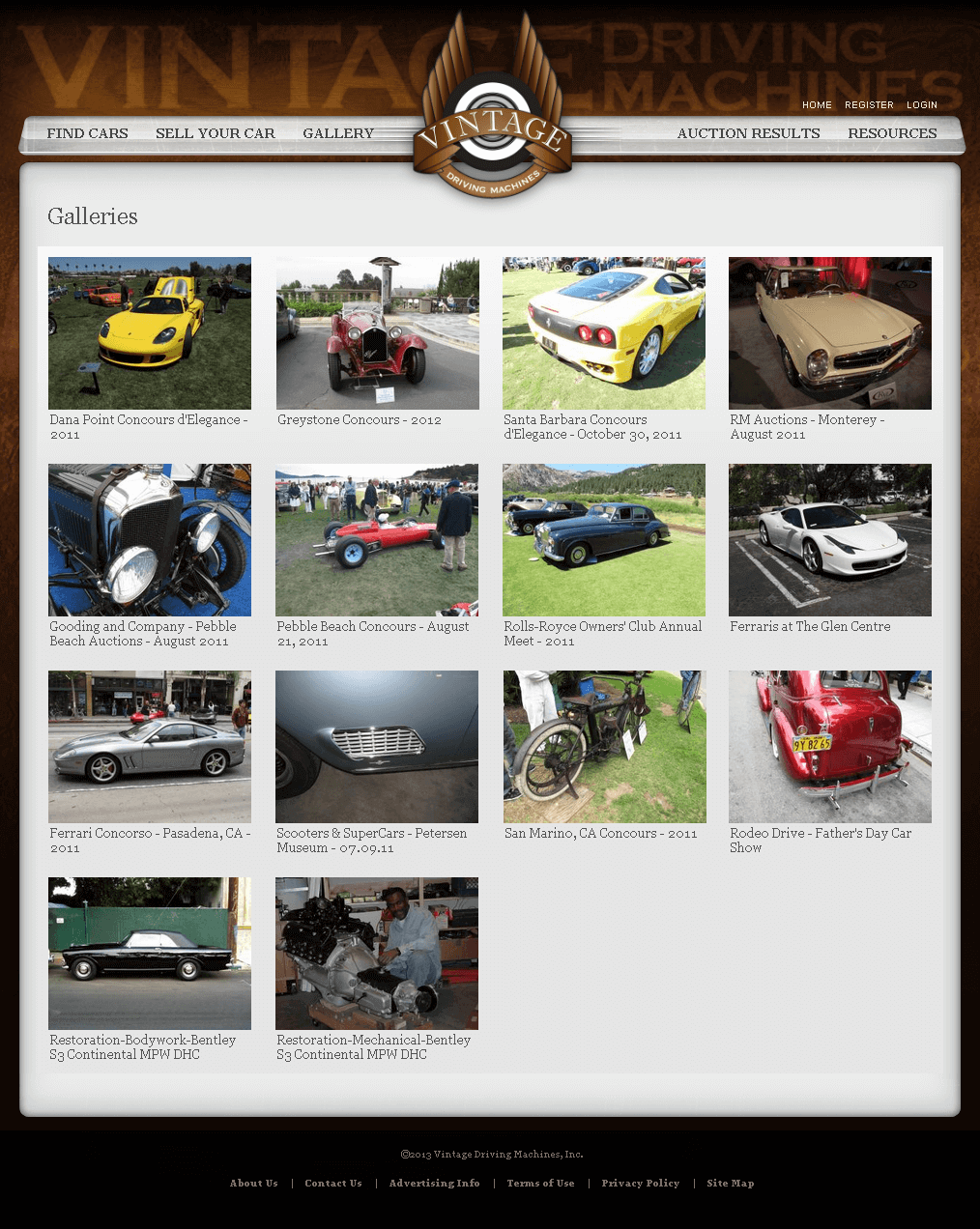 Redesigning an Online Marketplace for Vintage Cars