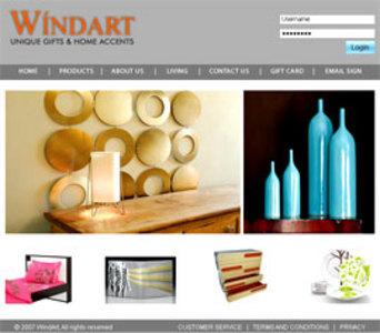 Development of PHP Based Website for Selling Gifts - Windart