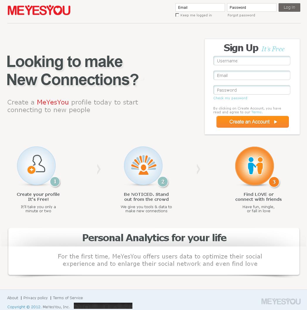 CakePHP Website for Online Dating 'MEYESYOU'
