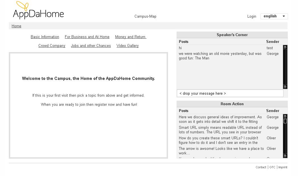 Networking Website Enhancements - App Da Home