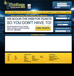Website fo Booking Match Tickets