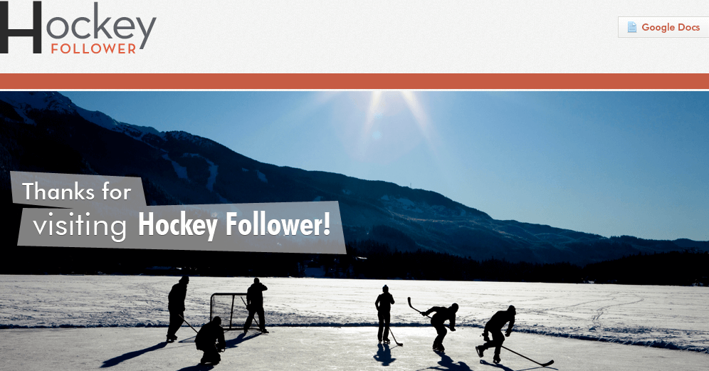 Website for Sports 'Hockey Follower' Using PHP - American Hockey League