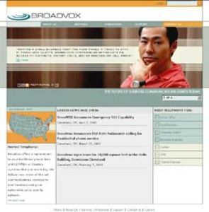 Website for Telecommunications Company 'BroadVOX' Using PHP