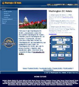 PHP Based Website Development - City Hotels