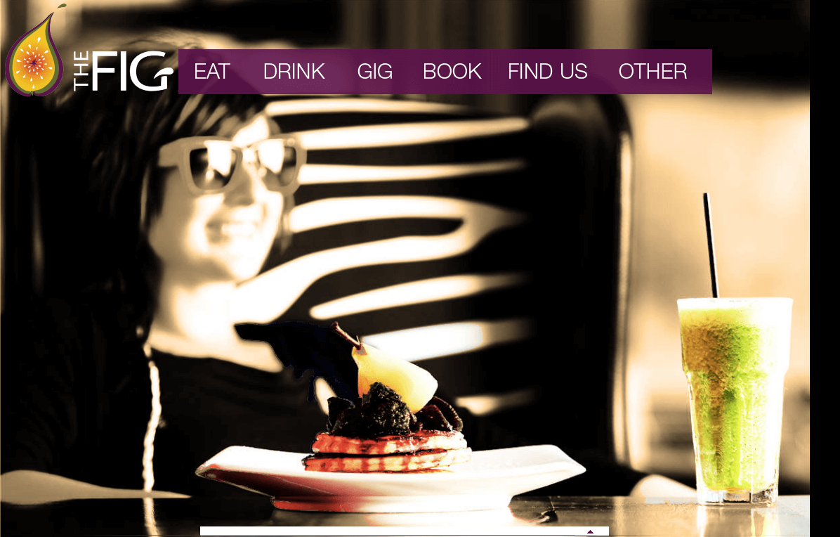 Website for Food & Entertainment industry 'THEFIG' Using PHP