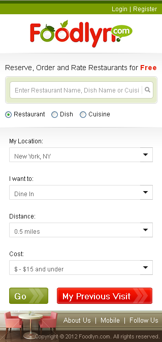 Website for Restaurant 'Foodlyn' Using PHP - Online Food Ordering