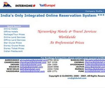 Travel Booking Software in PHP for 'Globotel' - Travel Services