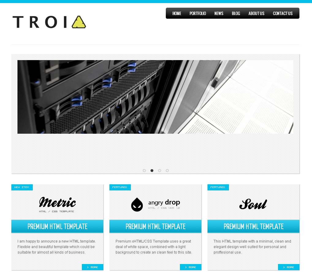 Blog Posting Portal in SharePoint for 'TROIA'