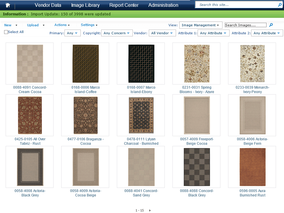 Retail Inventory Management Software in SharePoint for Online Store