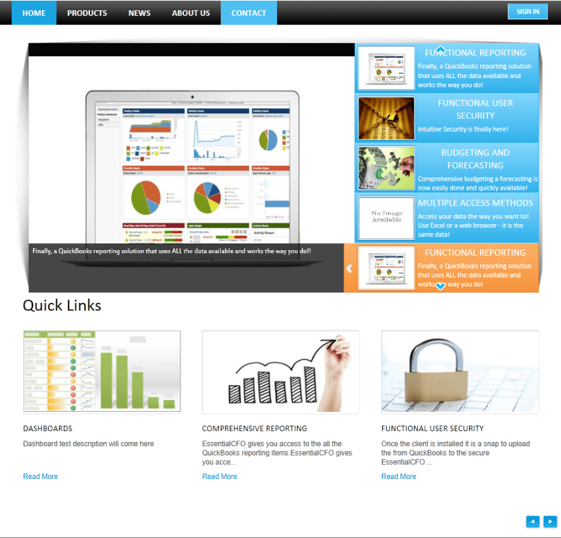 Retail Management Software in SharePoint for Online Products Seller