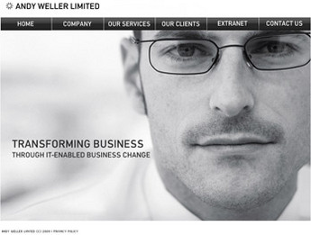 Real Estate Website in SharePoint for 'Andy Weller Limited'