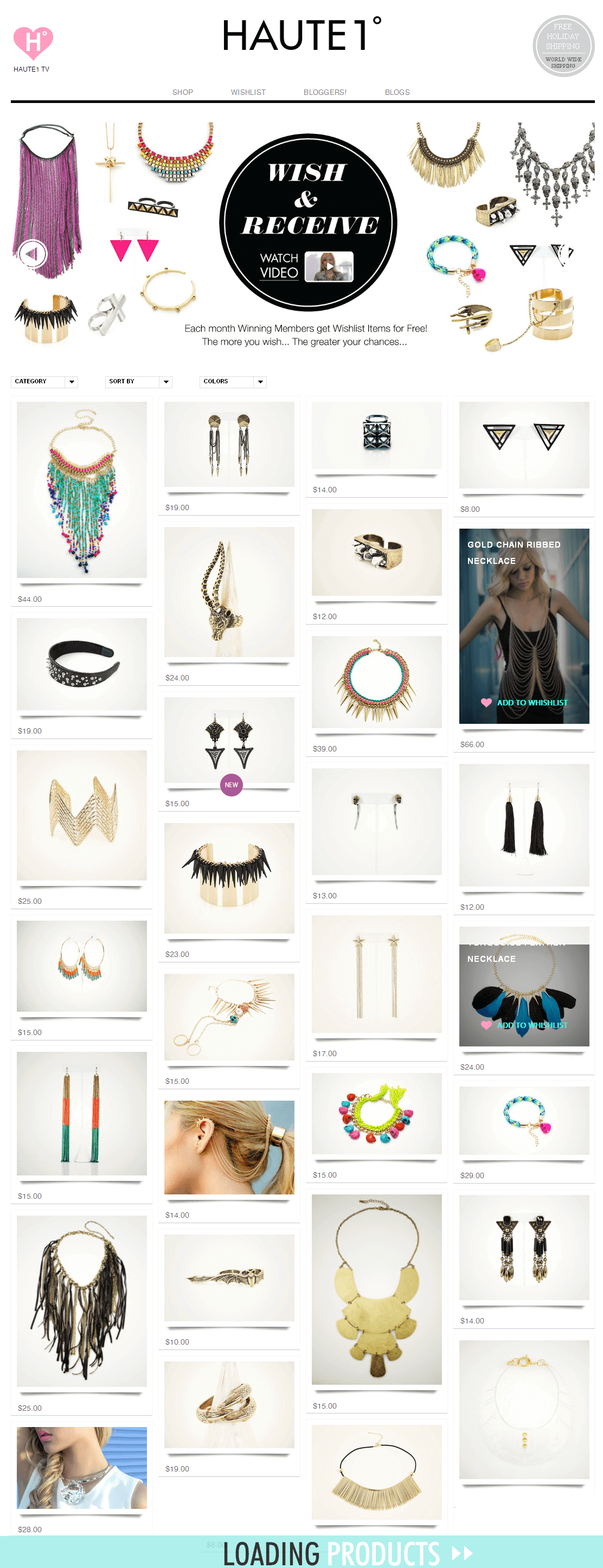 A Shopify Powered Online Store for Selling Fashion Accessories