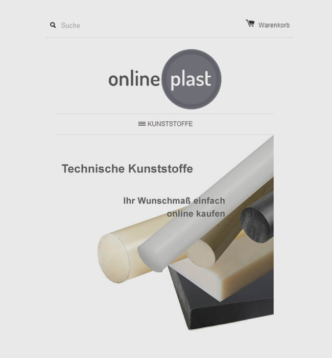 Shopify Store Customization for PVC Industry, Germany - Online Plast