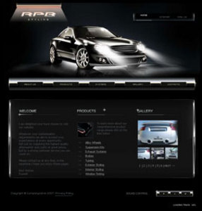 Website Development for Selling Car Accessories