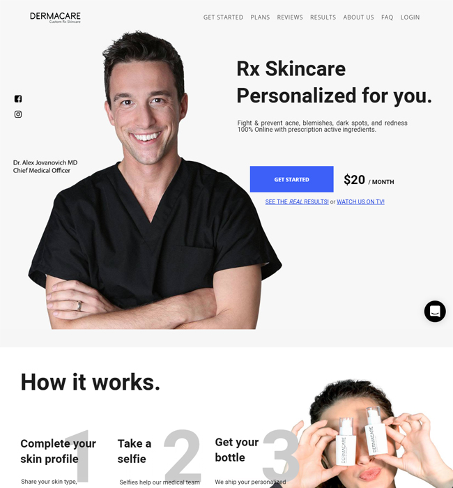 Enhancements in a WordPress Website for Cosmetics Industry - DERMACARE