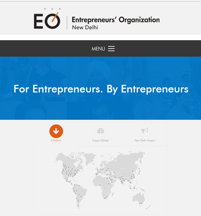 Development of a WordPress Website for Entrepreneurs Organization (EO)