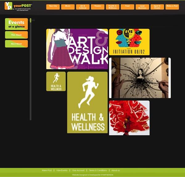 yourPOST - An Online Event & Advertisement Posting Website