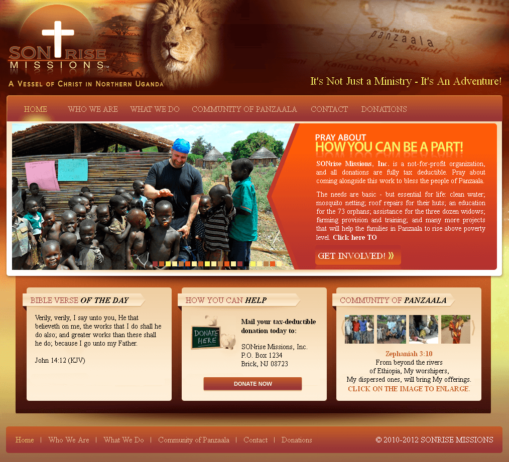 A Website to Spread Religious Beliefs