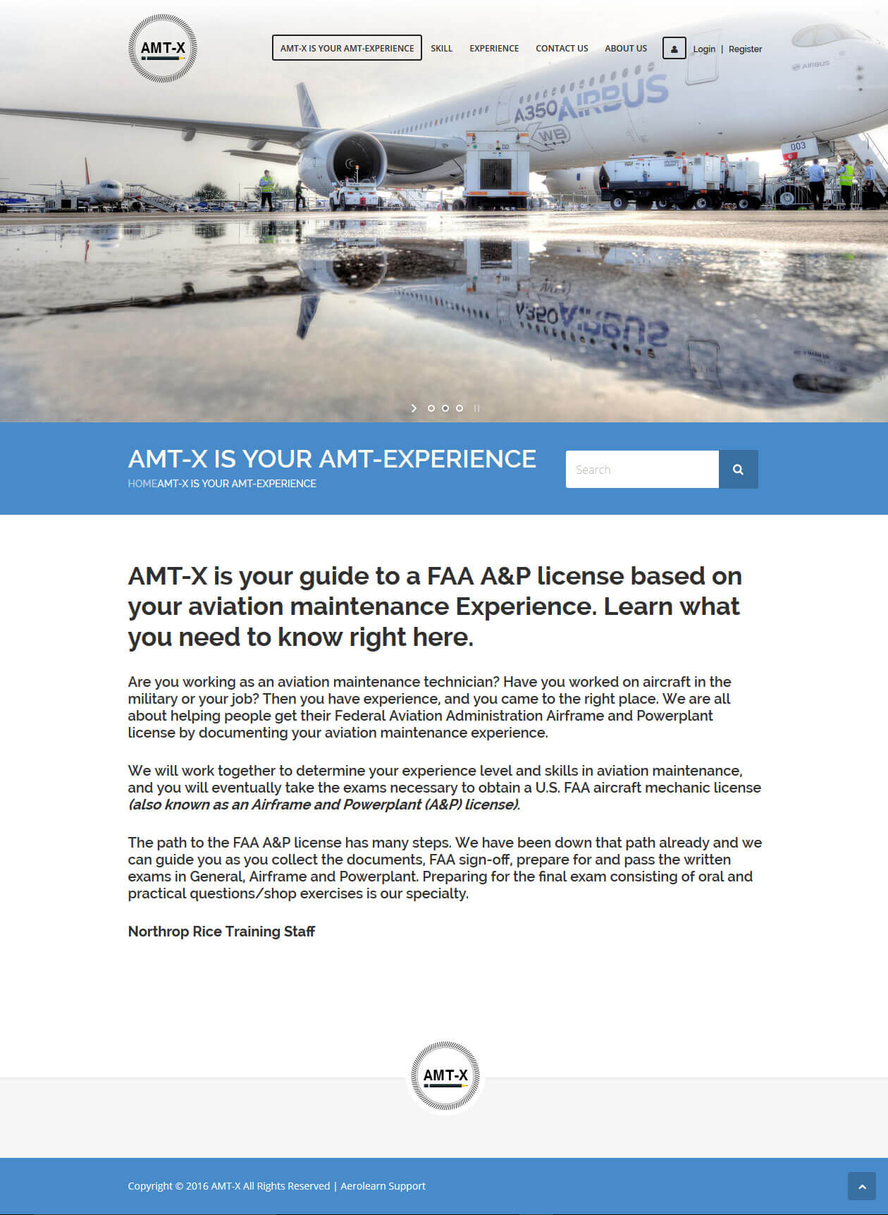 Maintenance of A WordPress Based Aviation Course Website