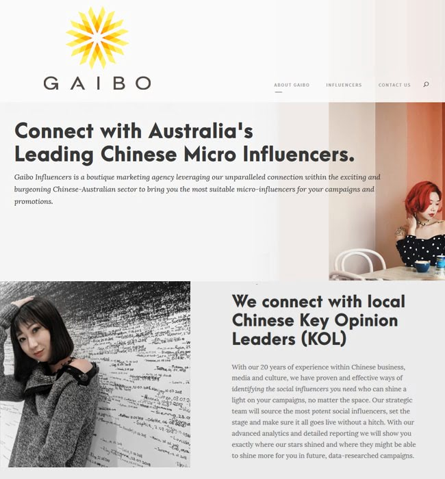 WordPress Website development for Marketing Agency, Australia - Gaibo