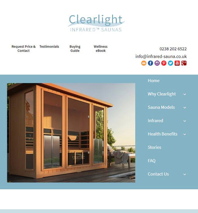 WordPress Website Enhancement for Wellness Industry - Clearlight