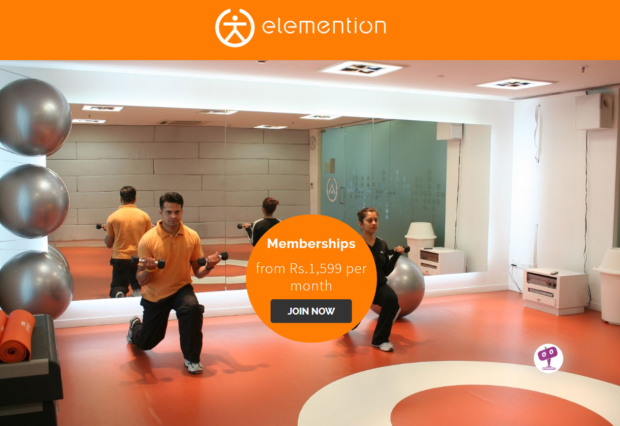 WordPress Based Website Development for Elemention Health & Sports