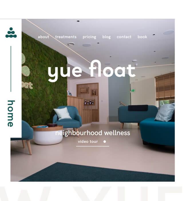 WordPress Website Enhancement for Wellness Industry in UK - yue float