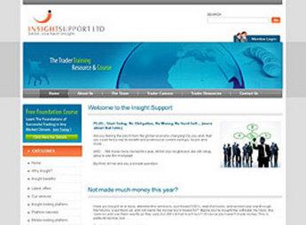 Website for Financial Trader 'Insights Portfolio' in Wordpress