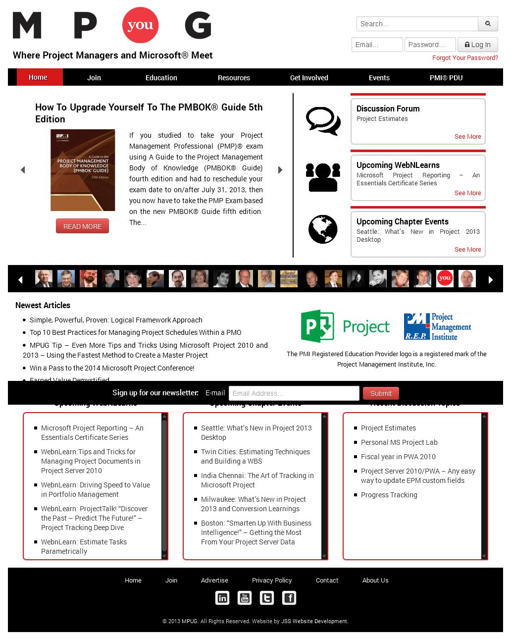 Website for Education 'MPug' in Wordpress - Training Provider