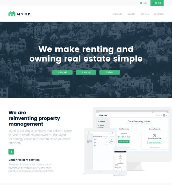 Website Design & Development using WordPress for Real Estate Industry