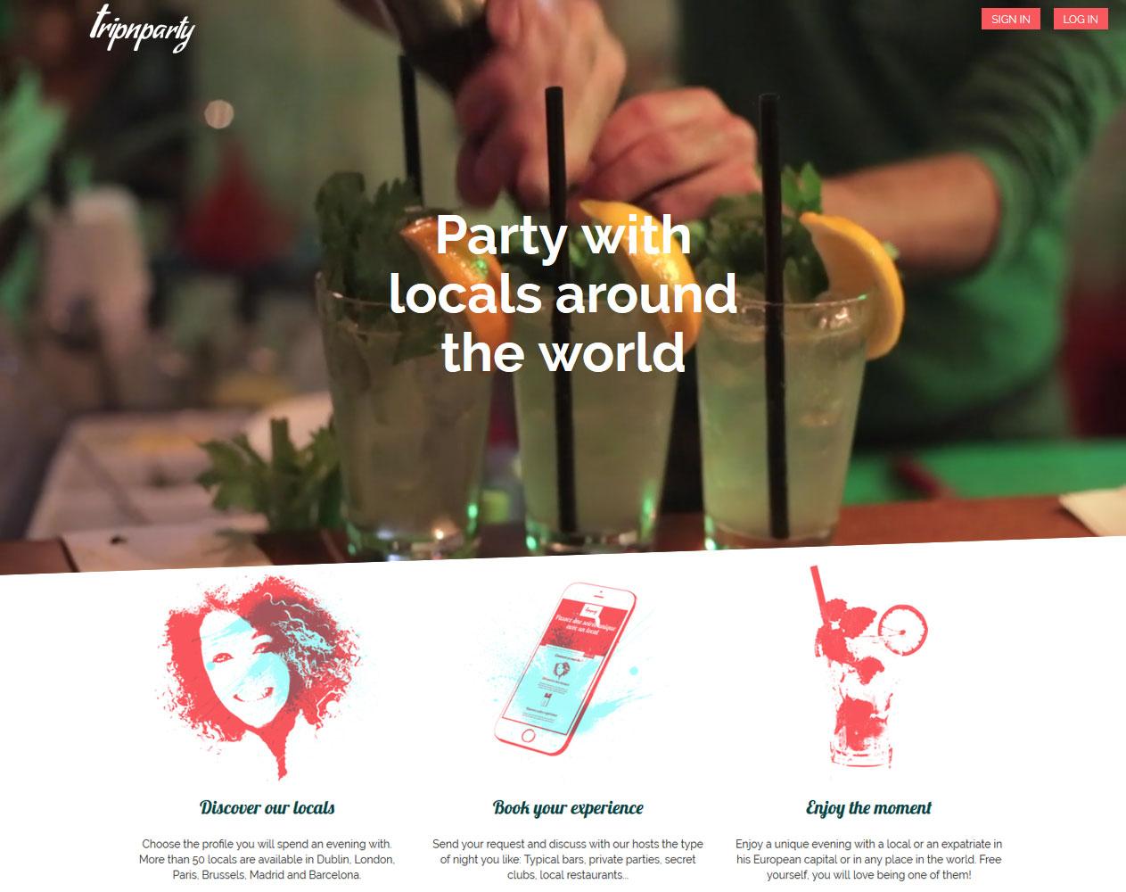 Enhancement of WordPress Based Website: Tripnparty